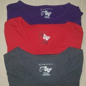 JMS  Set of 3 Long Sleeve Tshirts